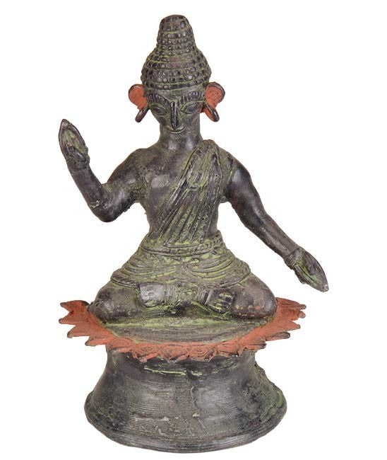 Lord Buddha in Tribal Perspective - Dhokra Craft