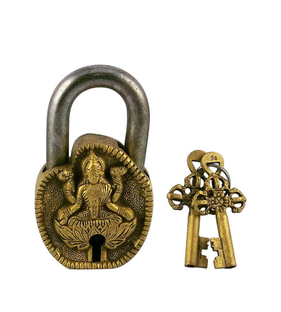 Goddess Lakshmi Decorative Lock