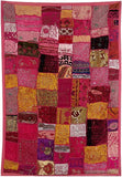 """Rose Radiance"" Gujarati Wall Hanging"