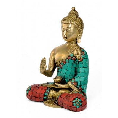 God Medicine Buddha Brass Sculpture 5065