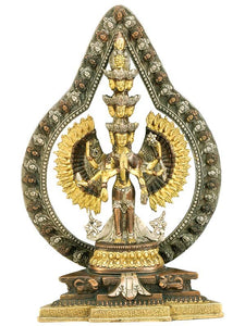 Thousand Hands Avalokiteshvara - Brass Sculpture
