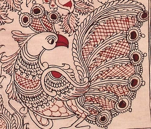 Tree of Life - Kalamkari Hand Drawn Painting
