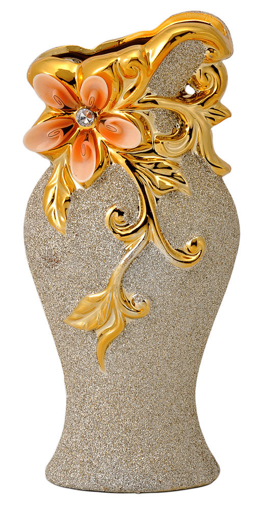 Decorative Floral Ceramic Vase