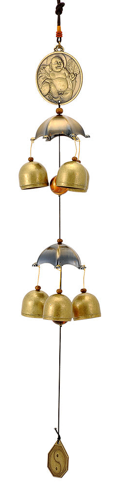 Fengshui Lauging Buddha Wind Chime