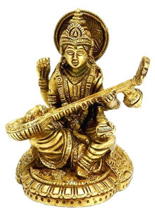 Saraswati Mata - Indian Goddess of Art And Wisdom