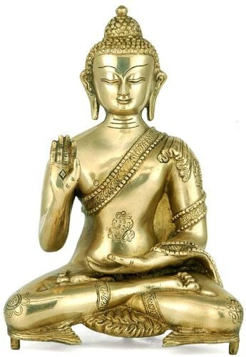 'Lord Buddha' Brass Statue  BS0225
