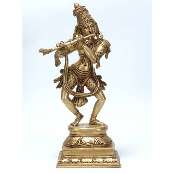 Murlidhar Gopala - Brass Sculpture