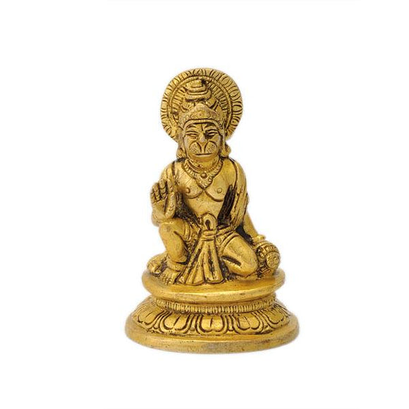 Blessing Hanuman Small Statue