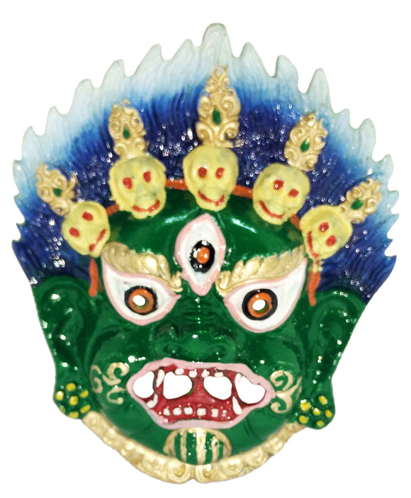 Traditional Mahakal Evil Eye Protector Decorative Vastu Wall Hanging Mask
