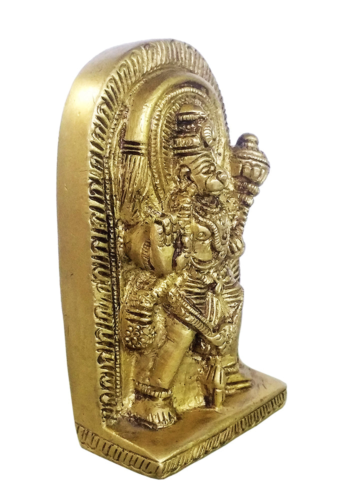 Lord Hanuman Small Brass Statue