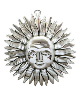 Lord Surya Dev (Sun Mask) Metal Wall Hanging for Home Decor
