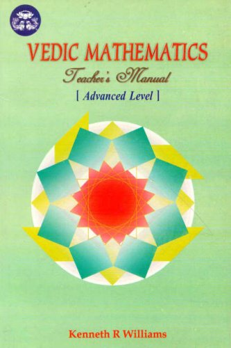 Vedic Mathematics Teacher's Manual, Vol. 3