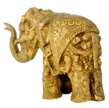 Decorative Handcrafted Brass Elephant Statue