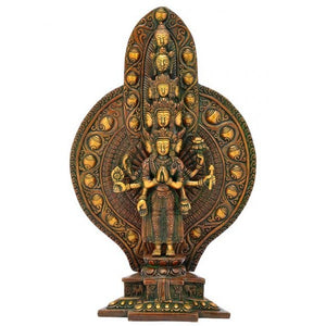 Avalokiteshvara Brass Sculpture