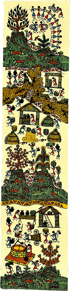 Village Culture Warli Painting