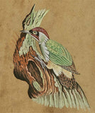 Miniature Painting of A Bird