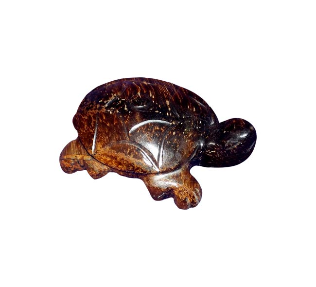 Tiger Eye Statue 'Little Tortoise'