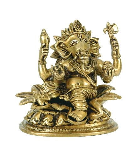 Lord Ganesha - Brass Statue  BS0233