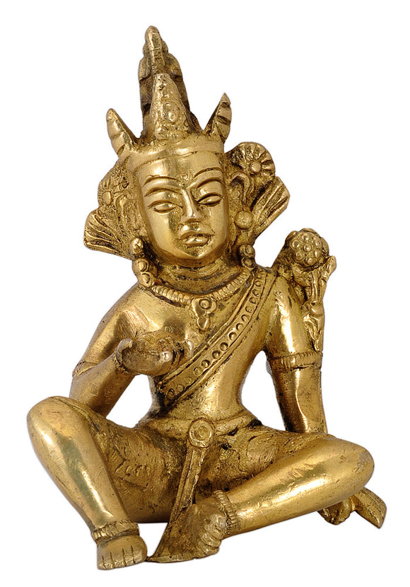Seated Lord Indra Deva