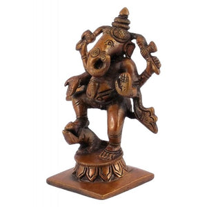 Antiquated Standing Baby Ganesh  Statue