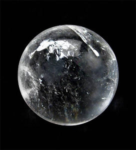 'For Peace' Quartz Crystal Ball