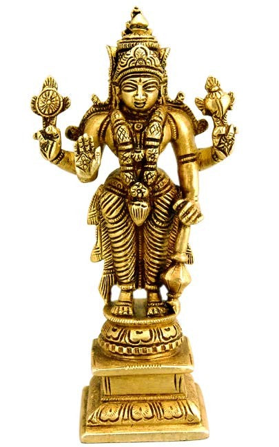Lord Vishnu - Brass Statue  BS0189