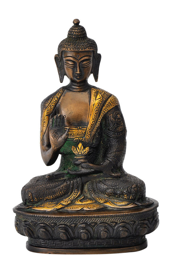 Beautifully Engraved God Buddha