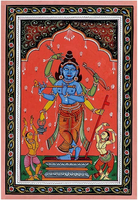 A Composite Form of Shri Rama,Krishna & Chaitanya