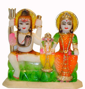 Gauri Shankar - Lord Shiva with Goddess Parvati