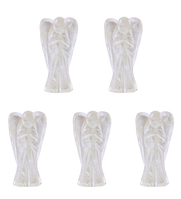 Quartz Crystal Guardian Angels - Set of 5