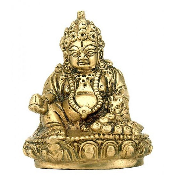 Lord of Treasures 'Lord Kuber' Brass Statue