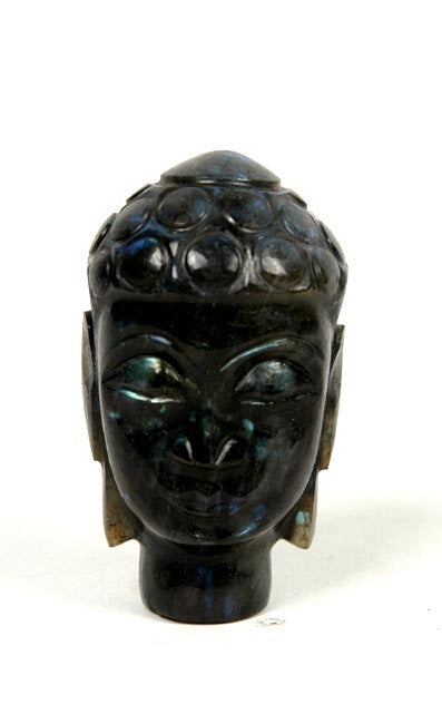Budha Head - Gemstone Sculptures