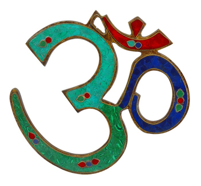 The Sacred OM - Wall Plaque