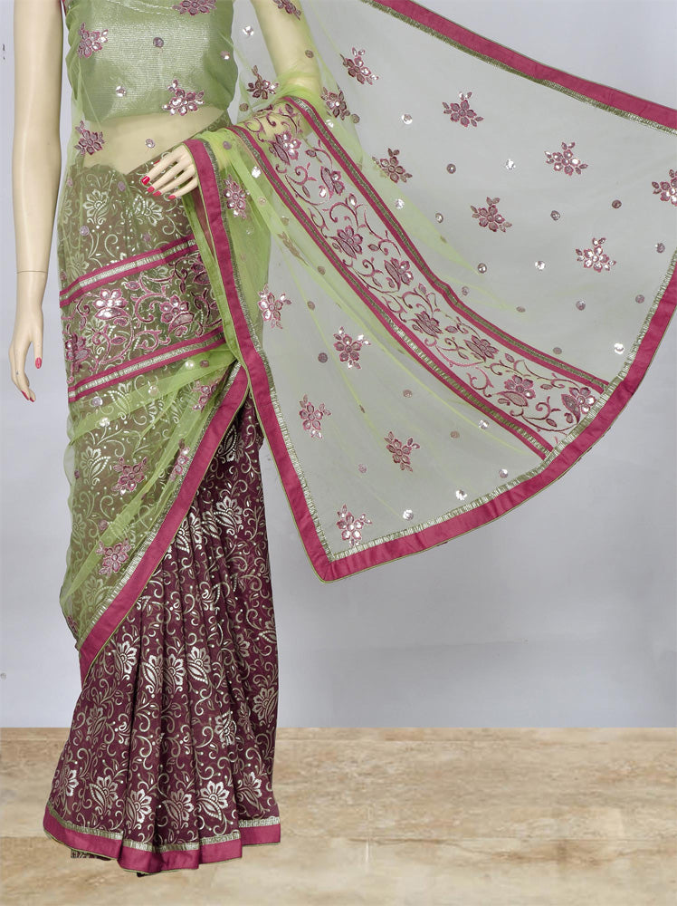 Beautiful Net Saree