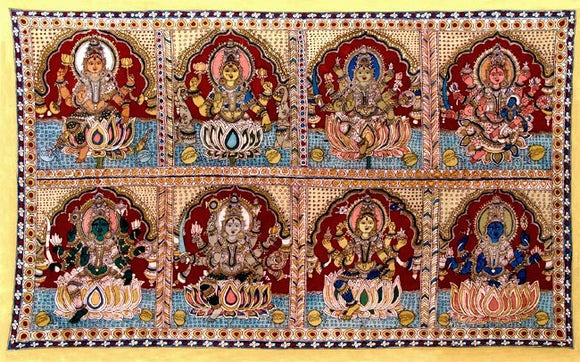 Eight Forms Of Goddess Lakshmi