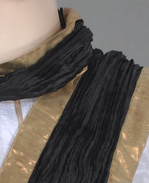 Black Stole with Golden Border