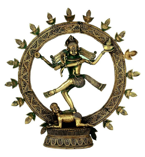 Dance of Universe - Dhokra Art Sculpture