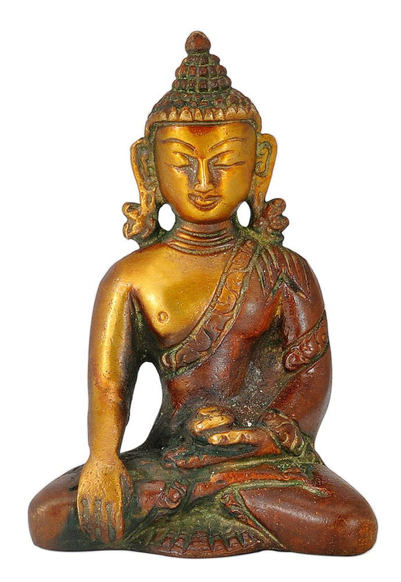 Earth Touching Budha Small Statue