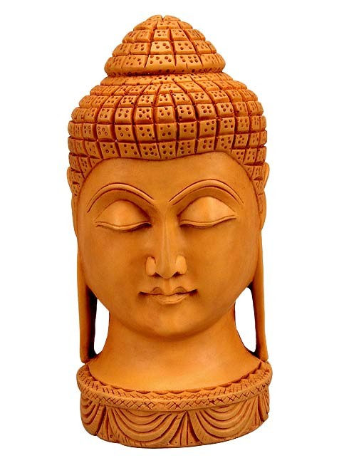 Buddha Head (Big) - Resin Statuette