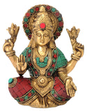 Goddess of Prosperity Devi Lakshmi Brass Figurine