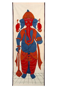 Beloved Lord Ganapati - Applique Wall Hanging