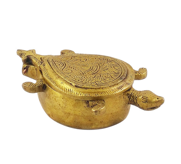 Decorative Brass Sindoor Daani