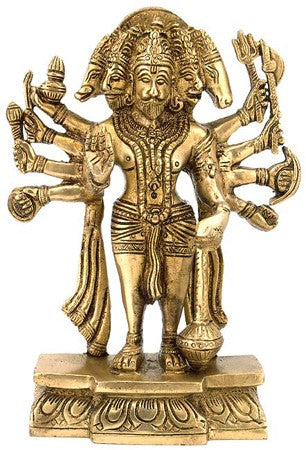 Lord  Hanuman - Brass Statue  BS0192