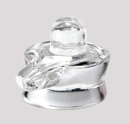 'One Who Purifies' Crystal Shiva Linga
