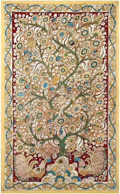 Tree of Life- Large kalamkari painting