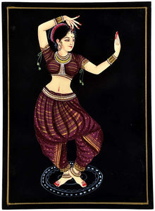 Young Dancer - Nirmal Painting