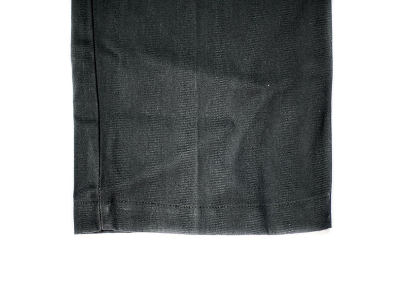 Charcoal Stretch Twill
