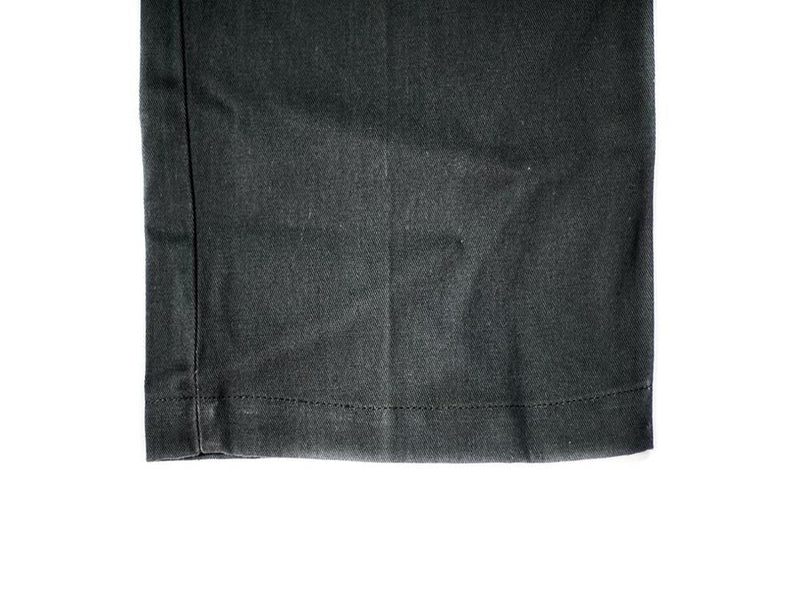 Charcoal Stretch Twill Shorts