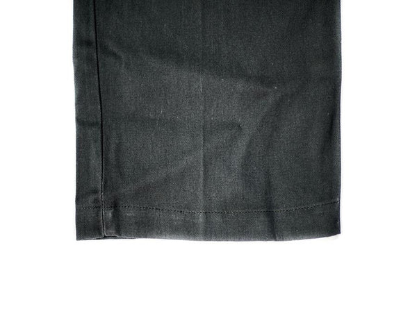 Charcoal Twill Shorts