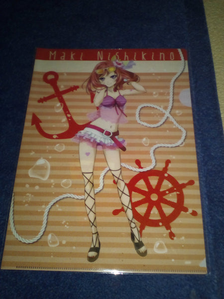 Love Live A4 clear file new with Nishikino Maki figure print
